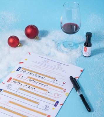 Calendrier de l'Avent 100% vin