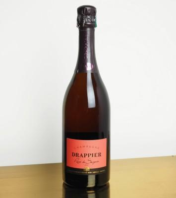 Champagne rosé de saignée