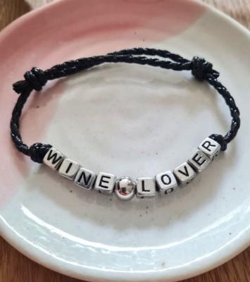 Bracelet wine lover