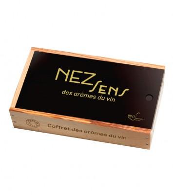 Info Saveurs - Coffret 12 arômes du vin - NEZ Sens des arômes du vin