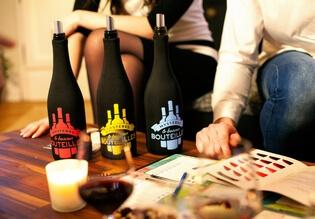 Le concept du jeu de dégustation des vins